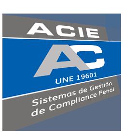 certificación acie sello